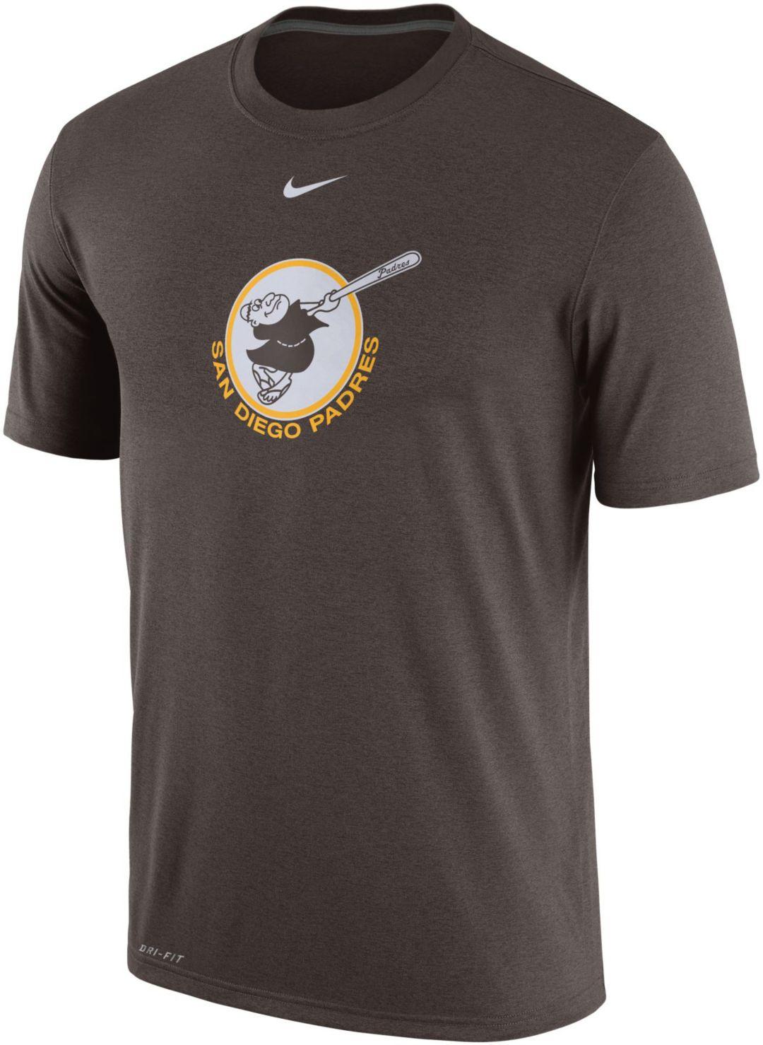 buy popular 36432 05272 Nike Men s San Diego Padres Dri-FIT Legend T-Shirt. noImageFound. Previous