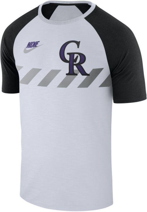 d26532fa Nike Men's Colorado Rockies Dri-FIT Raglan T-Shirt. noImageFound. Previous.  1