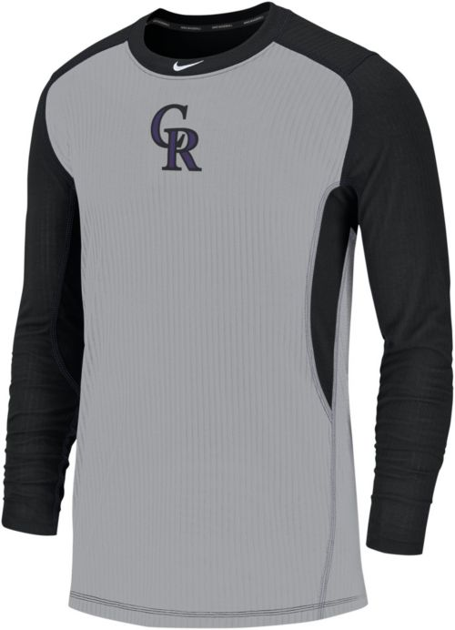 cbe52f36 Nike Men's Colorado Rockies Authentic Collection Dri-FIT Long Sleeve Top.  noImageFound. Previous. 1