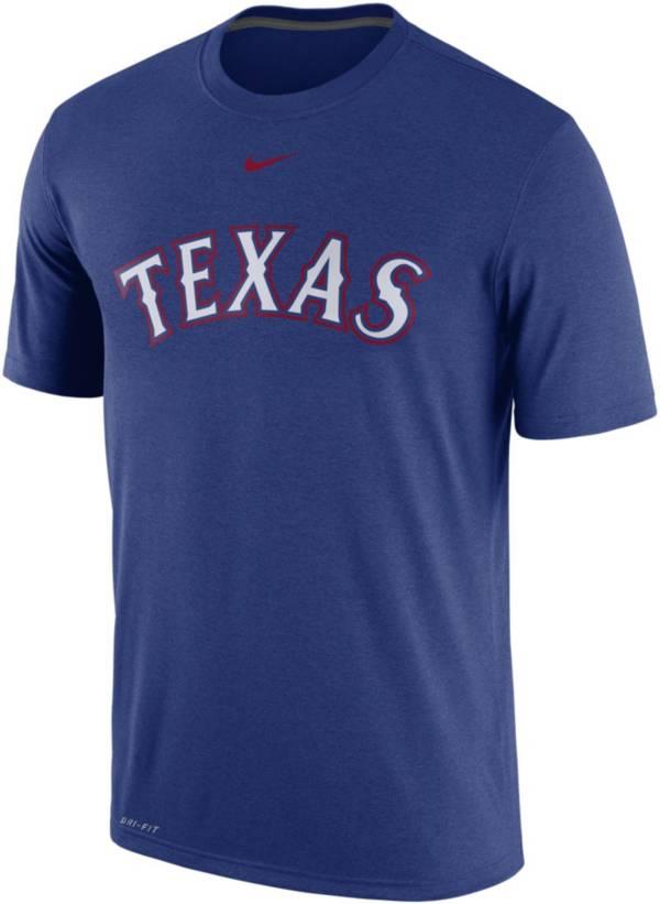 Nike Mens Texas Rangers Red Practice T-Shirt