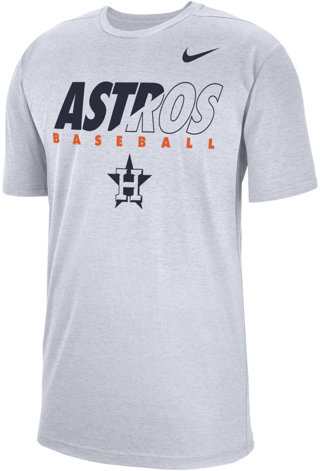 f37f442b Nike Men's Houston Astros Dri-FIT Breathe T-Shirt | DICK'S Sporting ...