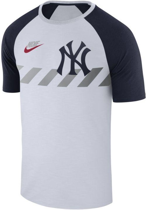new product efccc fe4c2 Nike Men s New York Yankees Dri-FIT Raglan T-Shirt. noImageFound. Previous
