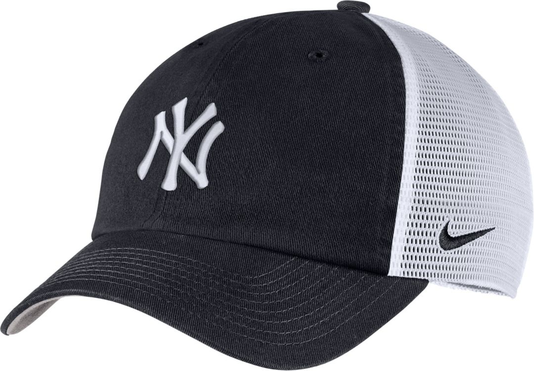 a6e70e6b7 Nike Men's New York Yankees H86 Trucker Adjustable Hat