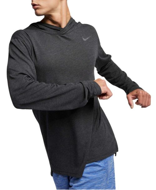 ef978dca6 Nike Men's Hyper Dry Hooded Long Sleeve Tee. noImageFound. Previous