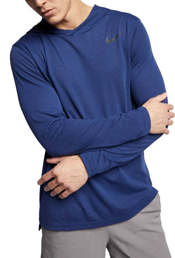 Nike Men's Hyper Dry Hooded Long Sleeve Shirt (Regular and Big & Tall) product image