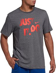 c4cb33ed Nike Men's Dri-FIT Cotton Just Do It Graphic T-Shirt | DICK'S ...