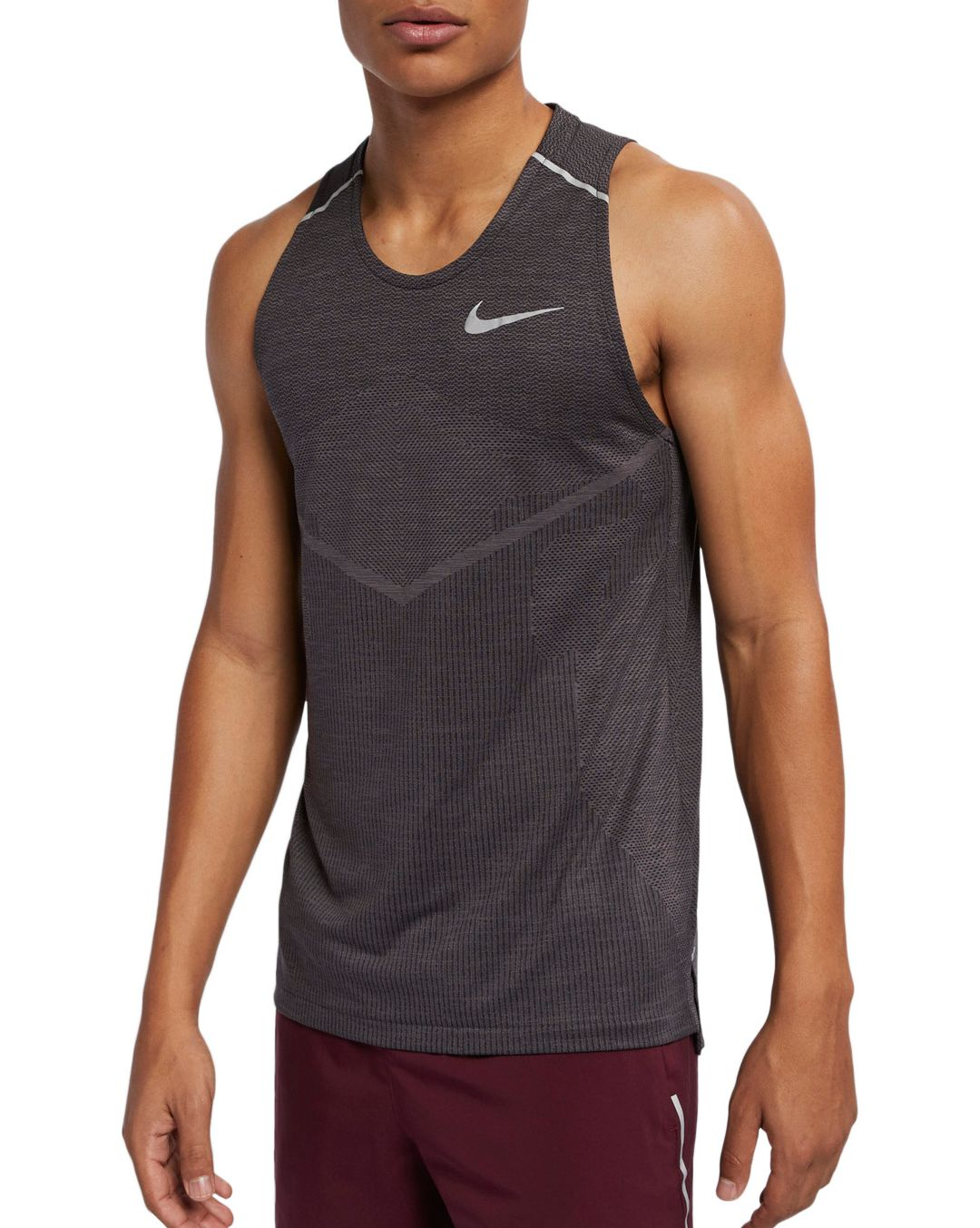 Nike Men's TechKnit Ultra Running Tank Top