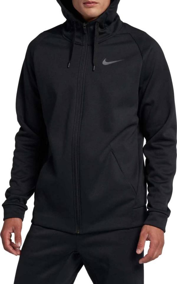 nike hoodie zip up black