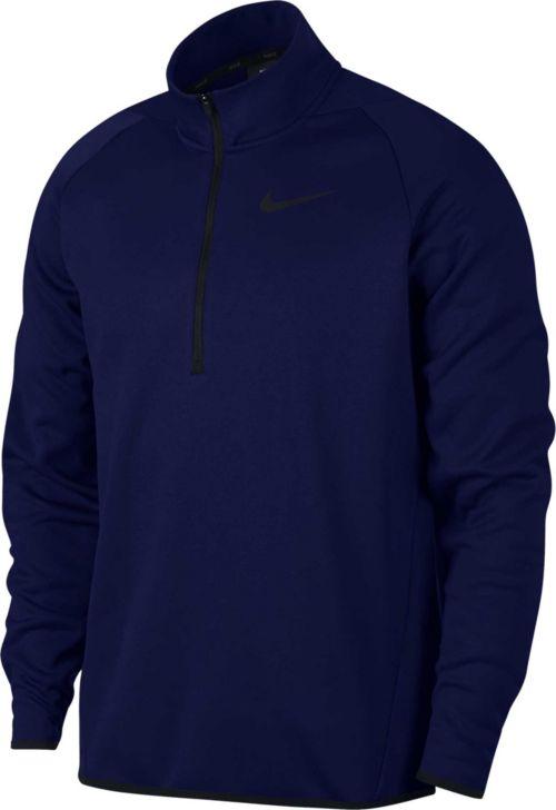Nike Men s Therma 1 4 Zip Fleece Pullover  8a0c369ed