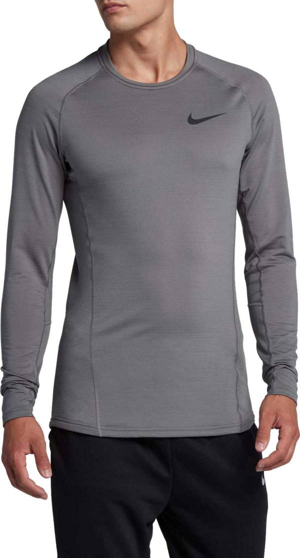 Aclarar Estrecho Belicoso  Nike Men's Pro Therma Dri-FIT Long Sleeve Shirt | DICK'S Sporting Goods