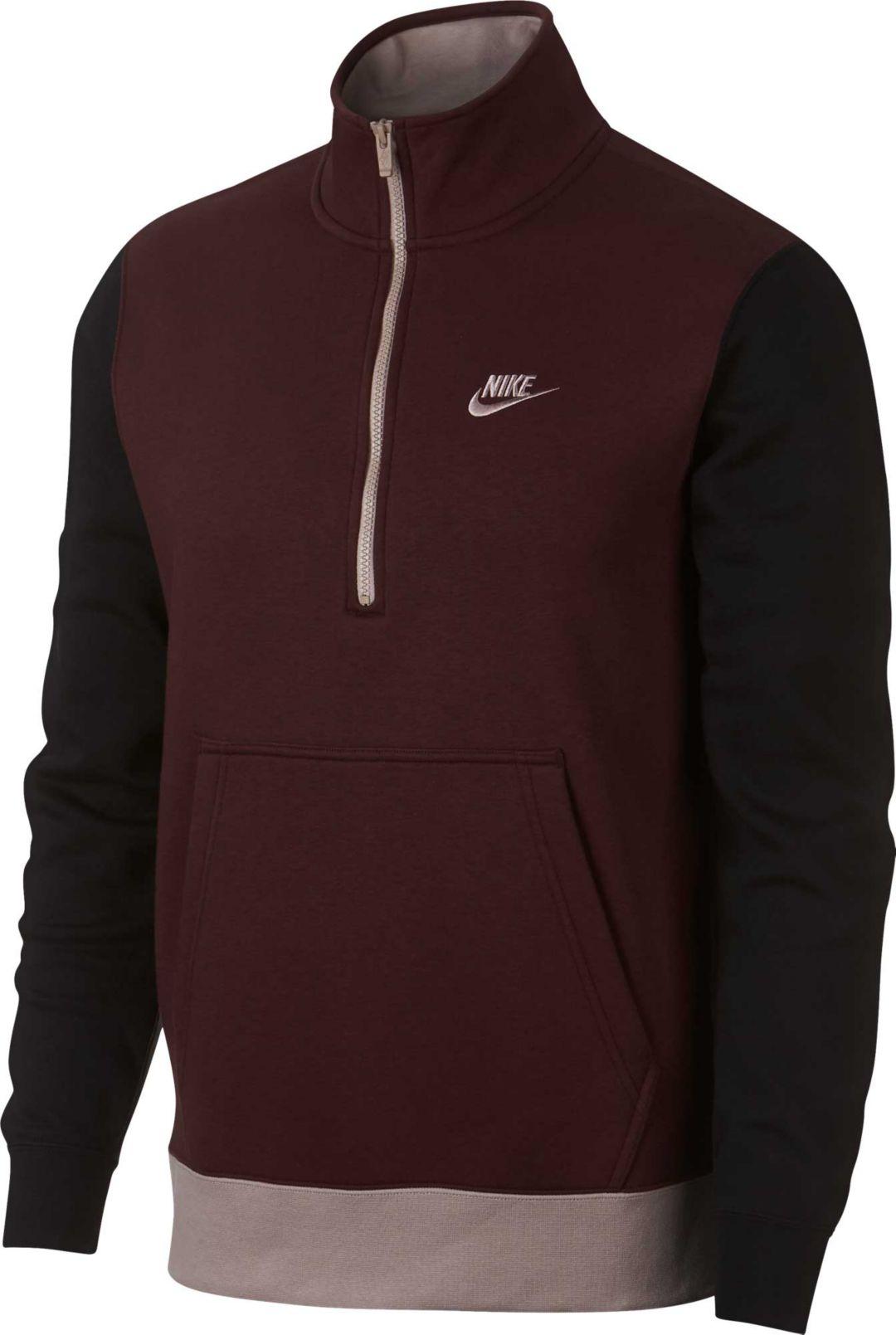2f938ea6a7655 Nike Men's Sportswear Club 1/2 Zip Pullover. noImageFound. Previous