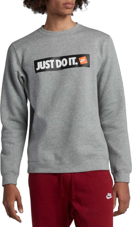 d295e8f81c Nike Men's Sportswear Just Do It Fleece Pullover. noImageFound. Previous