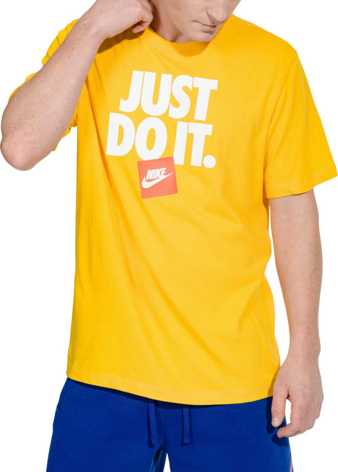 46b7341ed Nike Men's Sportswear Just Do It 3 Graphic Tee. noImageFound. Previous