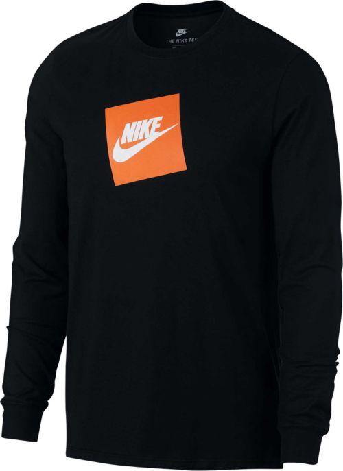 Nike Men s Sportswear Futura Box Long Sleeve Tee   DICK S Sporting Goods 8e44d64144