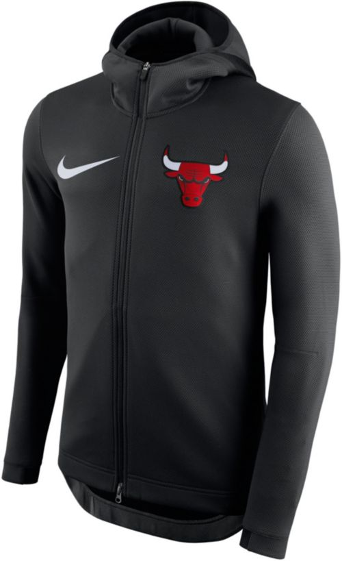 306172754 Nike Men s Chicago Bulls On-Court Therma Flex Showtime Full-Zip ...