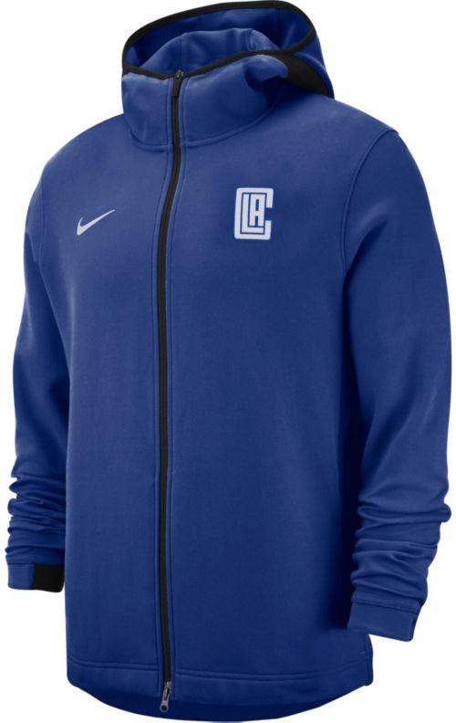 2448b50d2c9d Nike Men s Los Angeles Clippers On-Court Dri-FIT Showtime Full-Zip ...