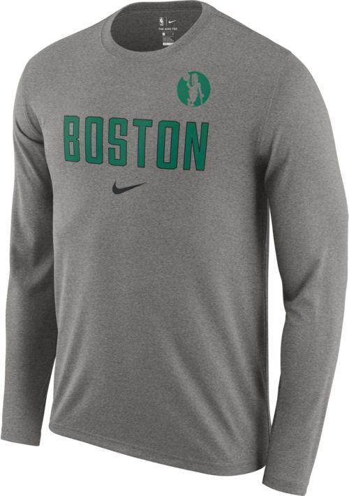 Nike Men s Boston Celtics Dri-FIT Facility Long Sleeve Shirt. noImageFound.  Previous b16bd30a5