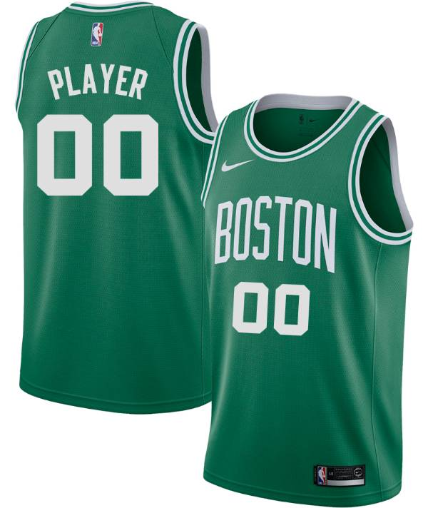 Nike Men's Full Roster Boston Celtics Kelly Green Dri-FIT Swingman Jersey product image