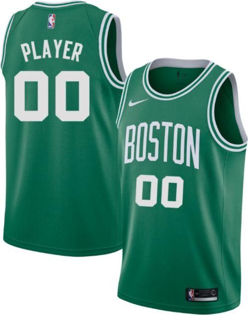 adb5515e67ea Nike Men s Full Roster Boston Celtics Kelly Green Dri-FIT Swingman ...