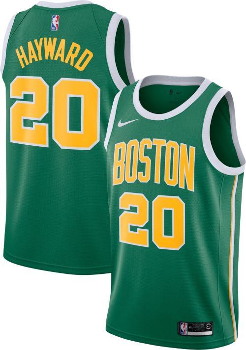 27c6b7c50dd Nike Men s Boston Celtics Gordon Hayward Dri-FIT Earned Edition ...