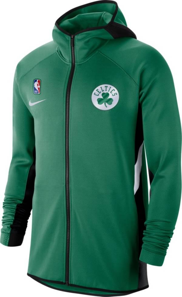 Nike Men's Boston Celtics On-Court Therma Flex Showtime Full-Zip Hoodie product image