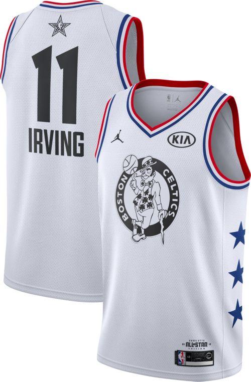 07200e0d426476 Jordan Men s 2019 NBA All-Star Game Kyrie Irving White Dri-FIT Swingman  Jersey. noImageFound. Previous