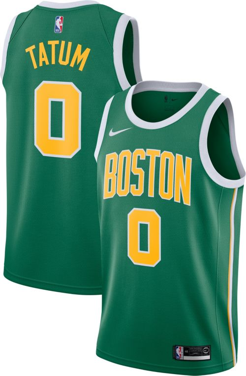 Nike Men s Boston Celtics Jayson Tatum Dri-FIT Earned Edition ... f75d0ac586