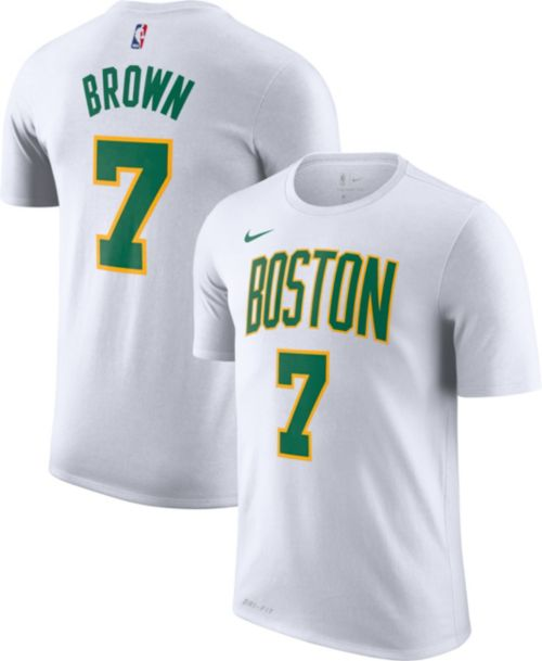 3e376ff6f4c Nike Men s Boston Celtics Jaylen Brown Dri-FIT City Edition T-Shirt.  noImageFound. Previous