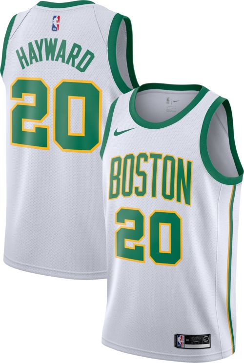 Nike Men s Boston Celtics Gordon Hayward Dri-FIT City Edition Swingman  Jersey. noImageFound. Previous 451e4c9f2