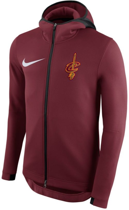 Nike Men s Cleveland Cavaliers On-Court Therma Flex Showtime Full ... 4f52bbb62230