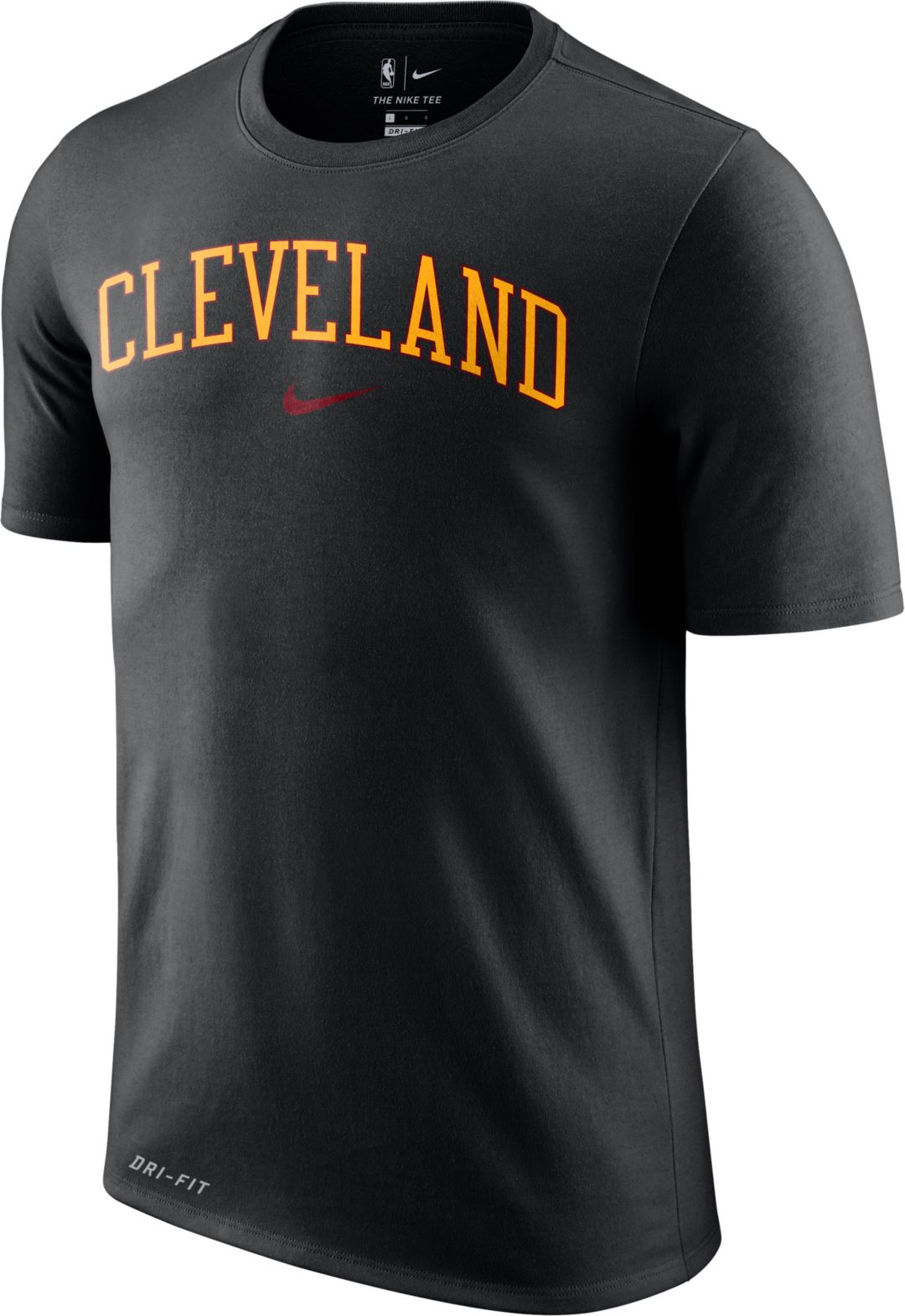 factory authentic ee289 7eacd Nike Men's Cleveland Cavaliers Dri-FIT City T-Shirt
