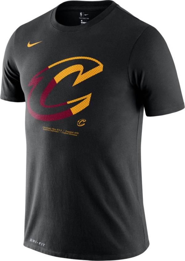 Nike Men's Cleveland Cavaliers Dri-FIT Split Logo T-Shirt product image