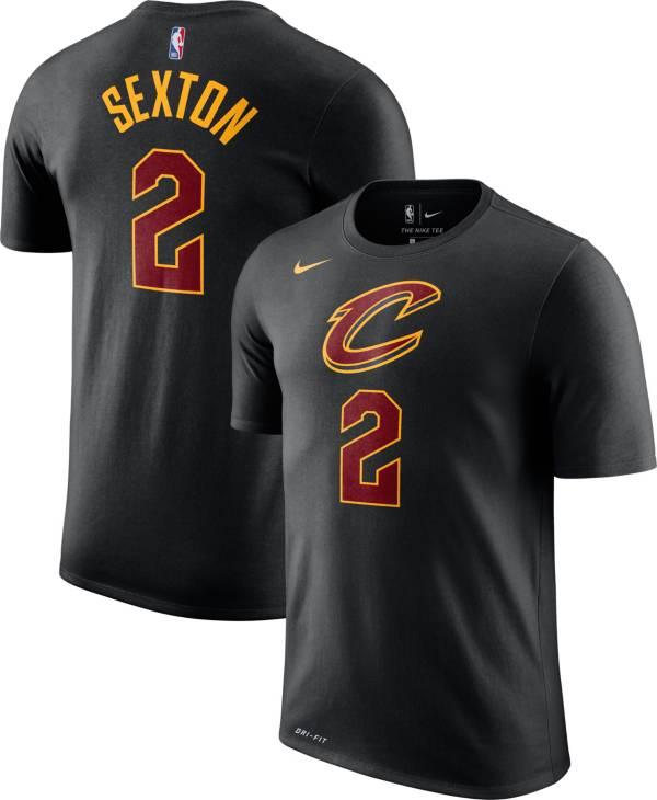 Nike Men's Cleveland Cavaliers Collin Sexton #2 Dri-FIT Black T-Shirt product image