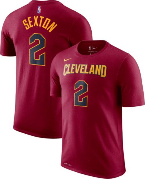 db7bf62ce Nike Men s Cleveland Cavaliers Collin Sexton  2 Dri-FIT Burgundy T-Shirt.  noImageFound. Previous