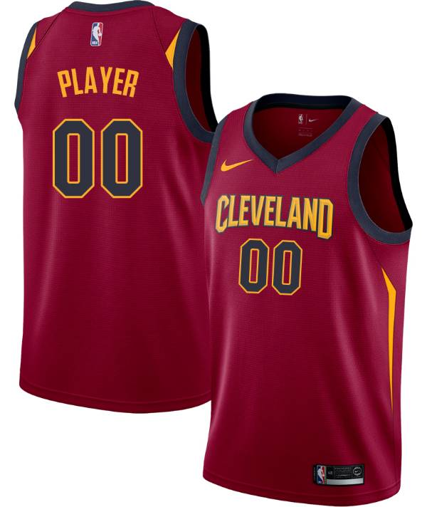 Nike Men's Full Roster Cleveland Cavaliers Red Dri-FIT Swingman Jersey product image
