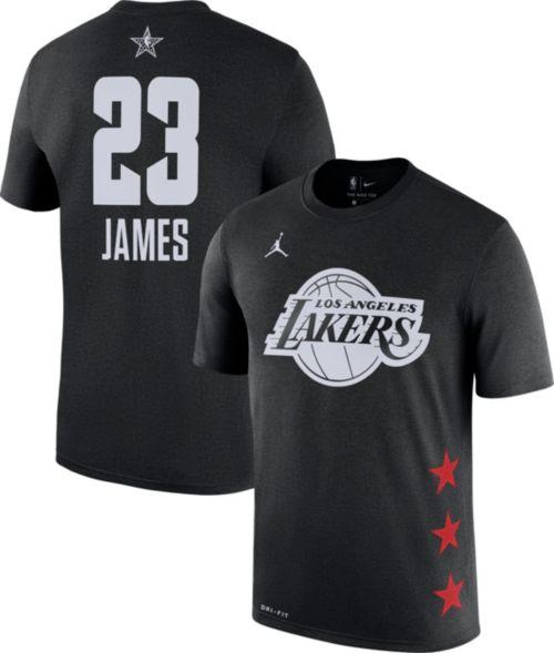 71eb6e7fb5f Jordan Men s 2019 NBA All-Star Game LeBron James Dri-FIT Black T-Shirt