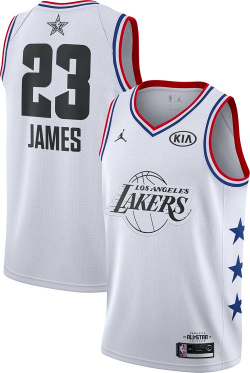 60f6037e6a41 Jordan Men s 2019 NBA All-Star Game LeBron James White Dri-FIT ...