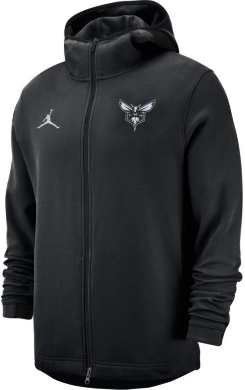79357a924cf Jordan Men s Charlotte Hornets On-Court Dri-FIT Showtime Full-Zip ...