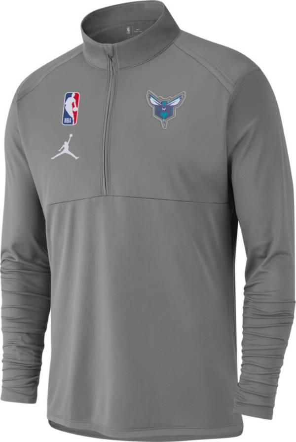 Jordan Men's Charlotte Hornets Dri-FIT Element Half-Zip Pullover product image