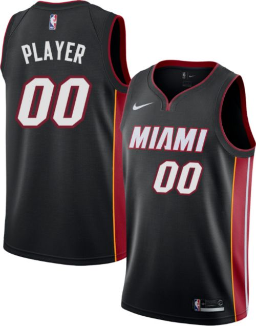 ae2847dad Nike Men's Full Roster Miami Heat Black Dri-FIT Swingman Jersey ...