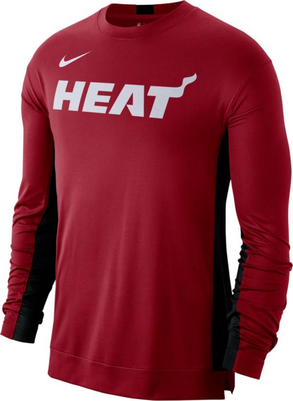 Nike Men's Miami Heat Dri-FIT Long Sleeve Shooting  Shirt product image