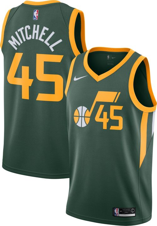 8856427c2d0a Nike Men s Utah Jazz Donovan Mitchell Dri-FIT Earned Edition Swingman  Jersey. noImageFound. Previous