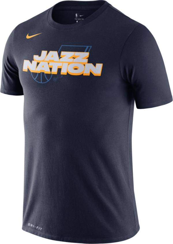 Nike Men's Utah Jazz Dri-FIT Mantra T-Shirt product image