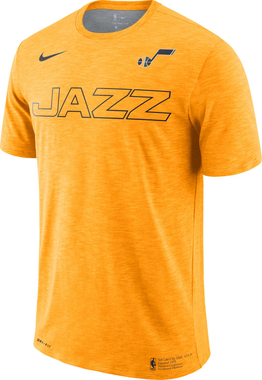on sale 6b165 d1e9d Nike Men's Utah Jazz Dri-FIT Facility T-Shirt