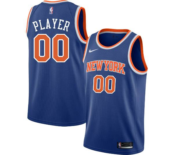 Nike Men's Full Roster New York Knicks Royal Dri-FIT Swingman Jersey product image