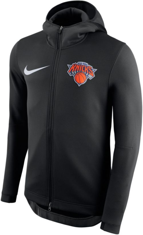 Nike Men s New York Knicks On-Court Therma Flex Showtime Full-Zip Hoodie.  noImageFound. Previous. 1. 2 1e2bad670