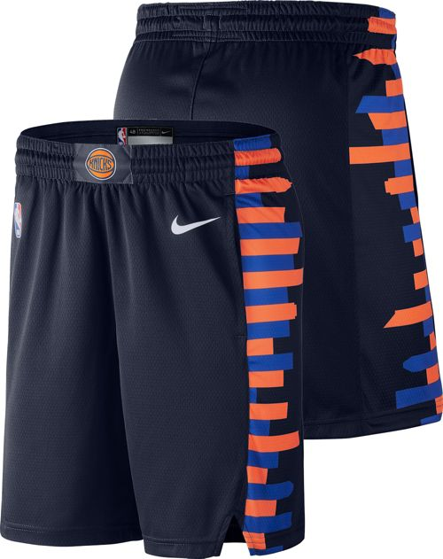 18eedb41330 Nike Men s New York Knicks Dri-FIT City Edition Swingman Shorts.  noImageFound. Previous