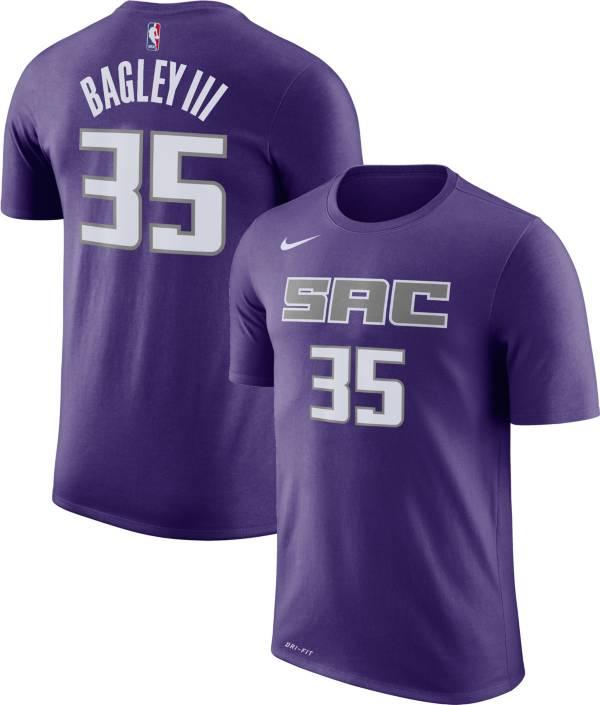 Nike Men's Sacramento Kings Marvin Bagley III #35 Dri-FIT Purple T-Shirt product image