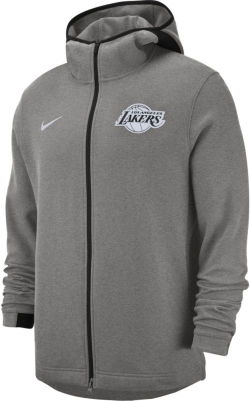 ff2e47c4a Nike Men s Los Angeles Lakers On-Court Dri-FIT Showtime Full-Zip Hoodie.  noImageFound. Previous