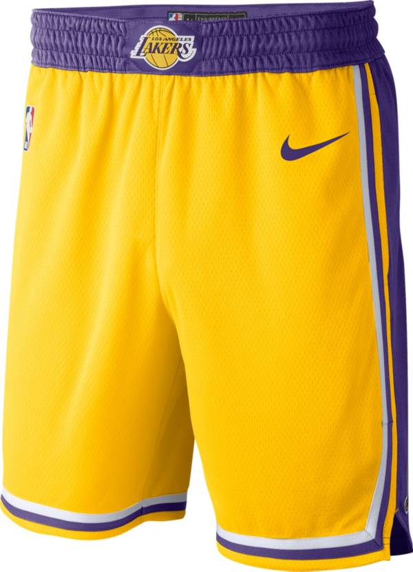 triathlon Uppror Tradition  Nike Men's Los Angeles Lakers Dri-FIT Swingman Shorts | DICK'S Sporting  Goods